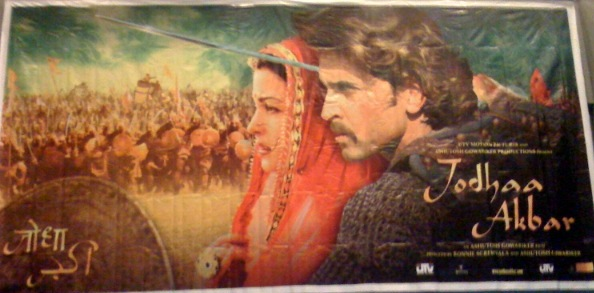 Jodhaa Akbar Poster courtesy of Raver