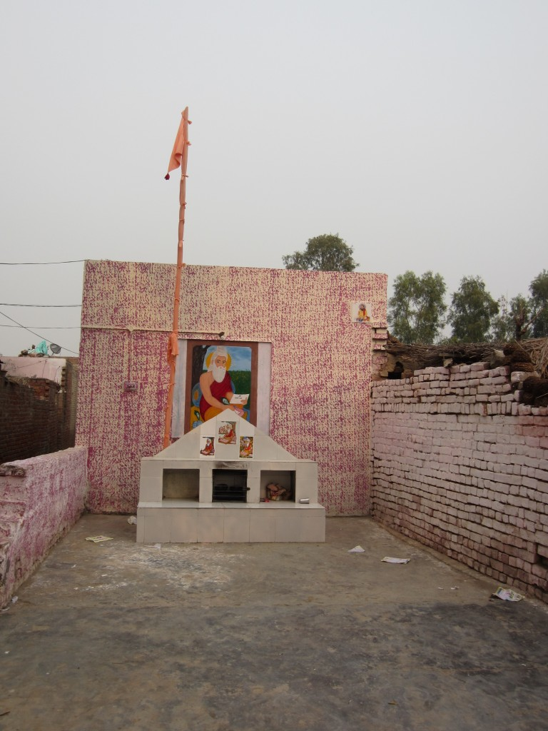 The Balmiki shrine of Dhotian.