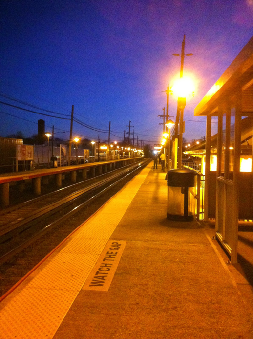 After the night she passed, LIRR Station, 2014